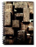 Rusty Art Spiral Notebook