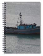 Rusty Boat Spiral Notebook