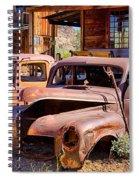Rusty Cars  Spiral Notebook