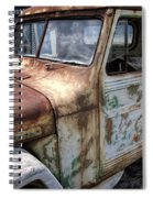 Rusty Classic Willy's Jeep Pickup Spiral Notebook