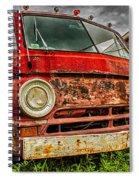 Rusty Dodge Spiral Notebook