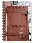 Rusty Door 1 Spiral Notebook