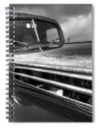 Rusty Ford 1942 Black And White Spiral Notebook