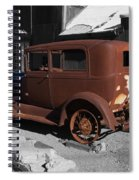 Rusty Ford Spiral Notebook