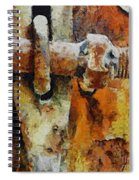 Rusty Gate Spiral Notebook