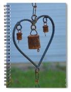 Rusty Heart 2 Spiral Notebook