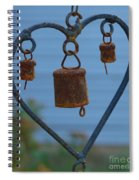 Rusty Heart 3 Spiral Notebook