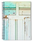 Rusty Hinges Spiral Notebook