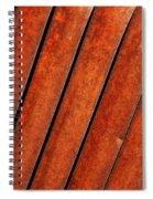Rusty Hood Louvers Spiral Notebook