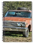 Rusty Impala Spiral Notebook