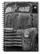 Rusty Spiral Notebook