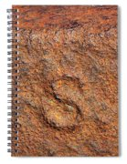 Rusty Letters Usa Spiral Notebook