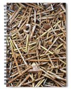 Rusty Nails Spiral Notebook