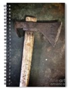 Rusty Old Axe Spiral Notebook