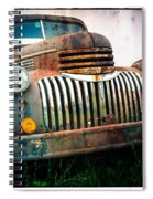 Rusty Old Chevy Pickup Spiral Notebook