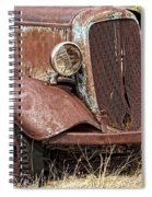 Rusty Old Chevy Spiral Notebook