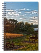 Rusty Old Farm Equipment Spiral Notebook