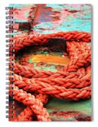 Rusty Old Ship Spiral Notebook