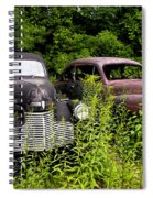Rusty Old Transportation Spiral Notebook
