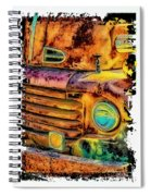 Rusty Old Truck Spiral Notebook