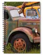 Rusty Old Trucks Spiral Notebook