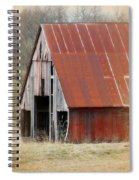 Rusty Ole Barn Spiral Notebook