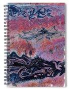 Rusty Pink Spiral Notebook