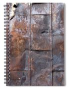 Rusty Plate Door 2 Spiral Notebook