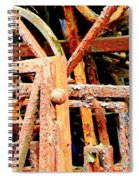 Rusty Railings Spiral Notebook
