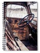 Rusty Relic Truck Spiral Notebook