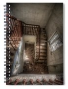 Rusty Stairs Spiral Notebook