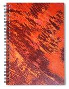Rusty Textures Spiral Notebook