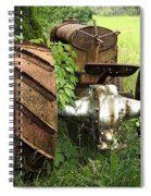 Rusty Tractor 1  Spiral Notebook