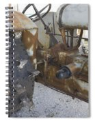 Rusty Tractor Spiral Notebook