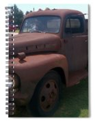 Rusty Ford Truck Spiral Notebook