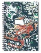 Rusty Truck Spiral Notebook