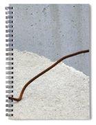 Rusty Twisted Metal II Spiral Notebook
