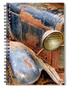 Rusty Vintage Automobile Spiral Notebook