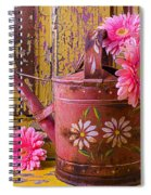 Rusty Watering Can Spiral Notebook