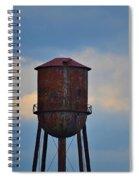 Rusty Watertower Spiral Notebook