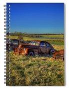 Rusty Westward Line Up Spiral Notebook