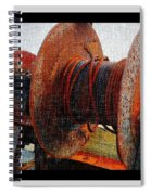 Rusty Winch  Spiral Notebook