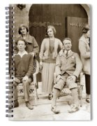 Ruth And Edward Kuster Theatre Of The Golden Bough 1924 Spiral Notebook