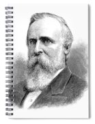 Rutherford B Spiral Notebook