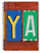 Ryan License Plate Name Sign Fun Kid Room Decor. Spiral Notebook