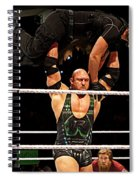 Ryback And Shield Spiral Notebook