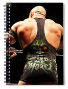 Ryback Feed Me More Spiral Notebook