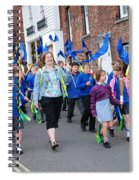 Rye Olympic Torch Parade Spiral Notebook