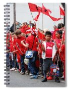 Rye Olympic Torch Relay Spiral Notebook