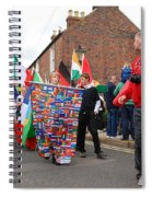 Rye Olympic Torch Relay Parade Spiral Notebook